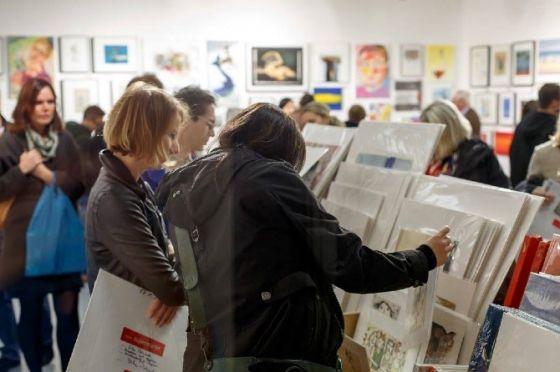 Der 13. Wiener Kunstsupermarkt hat eröffnet!