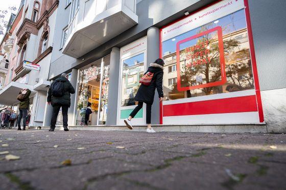 Der 20. Frankfurter Kunstsupermarkt geht am 23. November an den Start