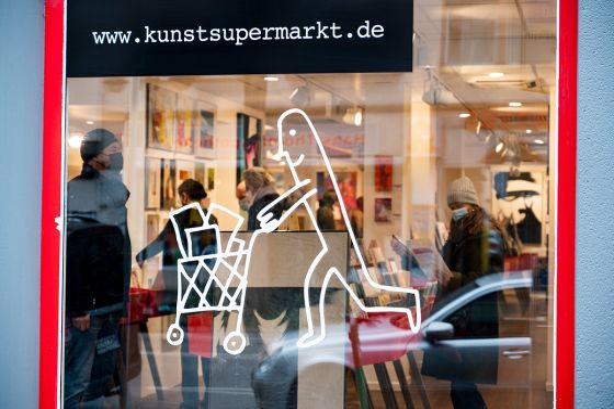 Der 21. Frankfurter Kunstsupermarkt beginnt am 15. November um 17 Uhr!